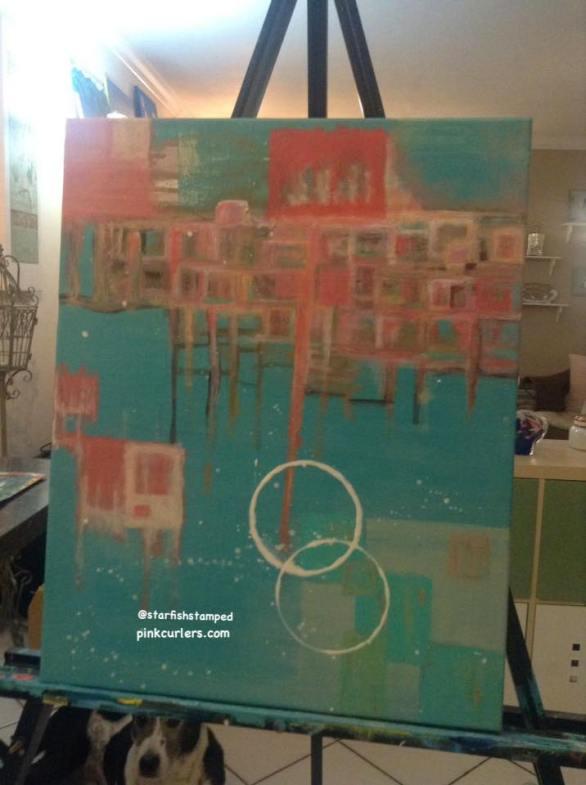 New Abstract Piece by Nicole Hospital-Medina
